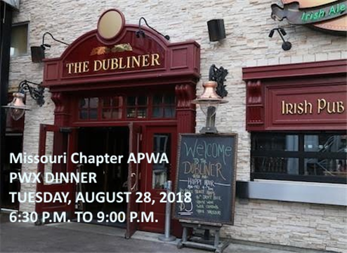 Join your fellow chapter members at The Dubliner!